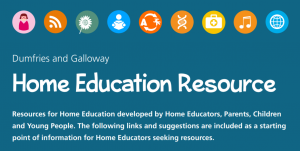 home education resource page